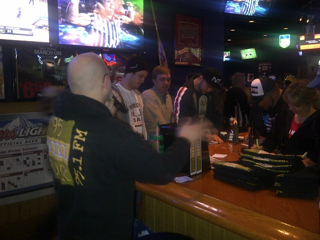 Buffalo Wild Wings RLB WRESTLEMANIA!