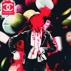 Labels (Chanel) (SleepLab) Tags: old pink red people blackandwhite woman black green art 6x6 girl fashion collage female digital photoshop altered cutout square photography blackwhite high hands stencil lab media flickr mood shadows hand purple designer sleep propaganda mixedmedia vibrant label ad surreal retro gloves filter coco adobe shade drugs splash spill chanel brand sureal photoshoped advertisment meds splat bipolar cs3 sleeplab filtereffects