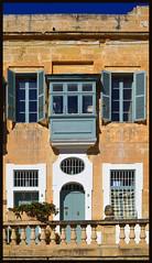 House Facade (albireo 2006) Tags: door house window stone architecture facade wow balcony malta valletta kartpostal v18 gettyimagesmalta1 gimaltafeb12 valletta2018