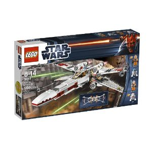 暴降:LEGO Star Wars X-Wing Starfighter 9493 乐高 星球大战系列 X战机 $45.6