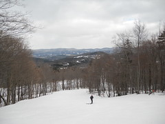 Thad on Sugarbush slopes