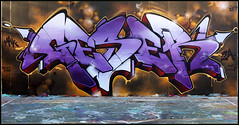 Grape soda (GESER 3A) Tags: street urban money art rock metal graffiti punk tits 3a hardcore vandalism spraypaint straightedge belton kem ges molotow kems geser
