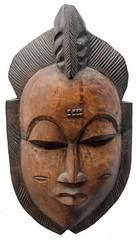 10Y_0903 (Kachile) Tags: art mask african tribal côtedivoire primitive ivorycoast gouro baoulé nativebaoulémasksaremainlyanthropomorphicmeaningtheydepicthumanfacestypicallytheyarenarrowandfemininelookingincomparisontomasksofotherethnicitiesoftenfeaturenohairatallbaouléfacemasksaremostlyadornedwithvarioustrad