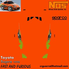 car town toyota supra fast and furious