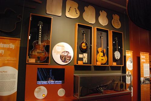 Heritage Guitar Works display -- Kalamazoo Valley Museum 106