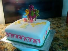 Barney Cake by Amy A