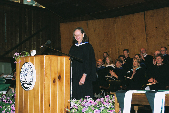 Ellen at the Podium