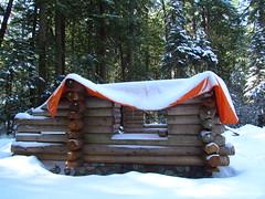 New Patrol Cabin @ Ipsut