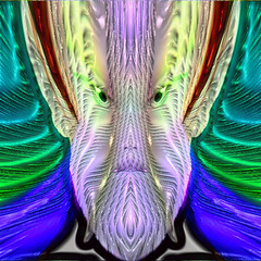 ACHUMA EL CHAMAN DEL CACTUS (FRANCIS DE GUAY (VERY BUSY)) Tags: fiesta y contemporaryart abstracto rococo bizarro neutro practico indefinido iridiscente emblematico magicpix fantasioso impredecible art2010 flamingpearfilterswereused personallibre acorazonado digitalespiritual art2011 colourartaward theinspirationgroup