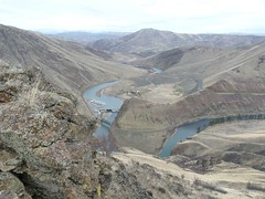 Almost surreal pic of Yakima River