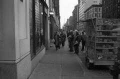 Lexington Avenue, 86th Street (triebensee) Tags: color 35mm cosina f25 voigtlnder skopar bessat ilfordpanf40