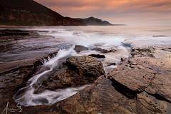 Coalcliff- a misty morning (sachman75) Tags: longexposure sea mist mountain beach coast rocks waves coastal nsw coastline canon1740mmf4 coalcliff grandpacificdrive southernsydney 5dmark2 canon5dmarkii singhrayreversendgrad3stops leefiltersndgrad3stops