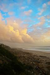 (SisterPrice) Tags: blue sky storm beach clouds oregon bluesky pacificocean oregoncoast stormclouds lincolncity oregonbeach lincolncityor