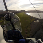 Kim lines us up to land at Mull and the pub beckons