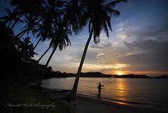 (Micartttt) Tags: sunset silhouette malaysia penang d80 micarttttworldphotographyawards micartttt