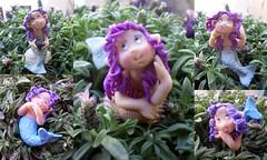 sirene (mindi64) Tags: baby cute babies handmade fimo fantasy clay mermaid cernit folletti sirene folletto gnomi portafoto sirenette personalizzati gnomini