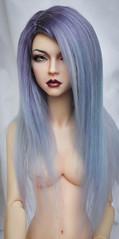 wig for sale (SophyMolly) Tags: alpaca doll sale violet sd wig bjd artdoll custom abjd vivien adoption 89 suri elfdoll customdoll