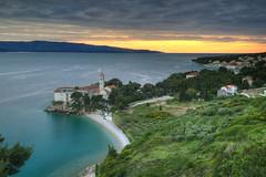 Brac Sunset (hapulcu) Tags: adria bol brac croacie croatia croazia dalmacija dalmatia horvatorszag hrvatska jadran kroatie mediterranean dusk island monastery spring sunset