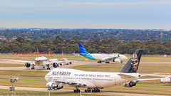 5 Airlines - 5 types (Graham Mahoney) Tags: canon tullamarine 1dmarkiv