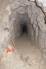 Heading in (Underground Explorers) Tags: california abandoned underground mine valley explorers exploration panamint