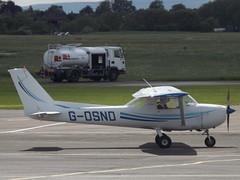 G-OSND Cessna 152 (Aircaft @ Gloucestershire Airport By James) Tags: james airport gloucestershire cessna lloyds 152 egbj gosnd