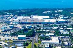 Aerial Photo of the Boeing Factory (AvgeekJoe) Tags: usa america washington nikon aerial aerialphoto dslr washingtonstate aerialphotography aerialphotograph painefield kpae boeingfactory d5300 nikond5300