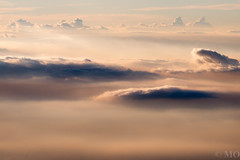 Ocean of clouds (mathieuo1) Tags: ocean travel sea white abstract color art clouds plane landscape dawn blurry asia background infinity horizon flight perspective dream peaceful wave wavy infinite ondulation