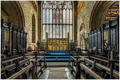 Cartmel Priory 2 (Darwinsgift) Tags: lake church nikon district g interior national cumbria trust 20mm nikkor f18 hdr priory cartmel d810
