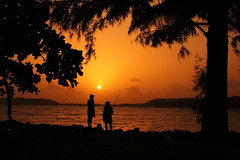 Leisure (rishidilip) Tags: fishing goa leisure miramar silhoutte