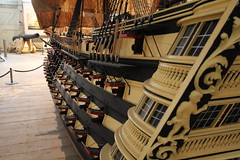 Model of HMS Victory (confused gem) Tags: chathamdockyard hmsvictory canonefs1022mmf3545usm canon600d