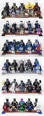 Batmen (ivanlimkl) Tags: dc lego batman minifig superheroes minifigure customminifigure