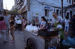 Slum Market (leozhong84) Tags: leica color nikon shanghai market kodak 28mm 200 plus f28 slum fm2 elmaritr e48