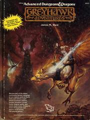 TSR2023-AD&D-2nd-Edition-Greyhawk-Adventures (Count_Strad) Tags: artwork dragons adventure fantasy add rpg dungeonsanddragons dd module dungeons tsr