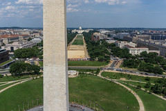 Monument Works - from Above (Wind Watcher) Tags: kite monument dc washington kap dopero windwatcher