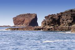 Palaoa Point (rschnaible) Tags: ocean sea usa seascape water point landscape hawaii coast us pacific rocky cliffs coastal tropical tropics rugged lanai palaoa