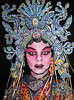 #600. Five Pheonix Crown. (hawhawjames) Tags: china bird art face birds painting asian james opera paint theater artist dress mask theatre body head chinese beijing makeup geisha kabuki singer oriental performer diva kuhn pheonix