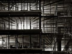 construction site (marianna armata) Tags: winter light shadow lines site construction geometry montreal mariannaarmata