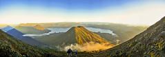 Majestic View of Atitlan (MiQueGuatemala) Tags: sunrise volcano guatemala panoramic amanecer atitlan panoramica toliman volcan miguelavila