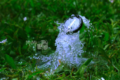 [1-5] (Mi Mi ) Tags: green broken water fountain grass canon lens pipe cover d600             600