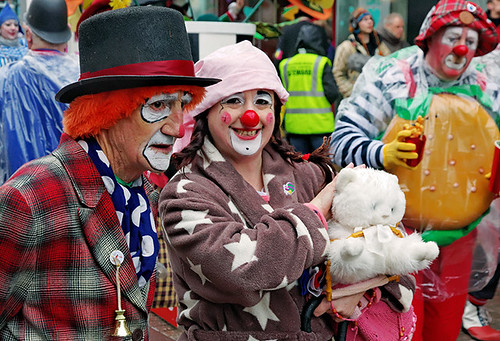 Clowns international - Toby Jingles, Snoozy and Gingernutt