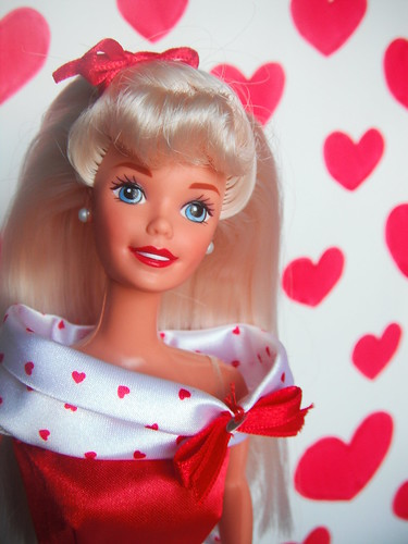 1995 special edition valentine barbie