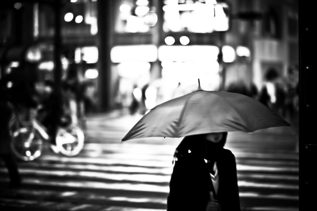 Hiroshima City Imahinasyon Photography Tags Road Street 2 White Black Rain Japan