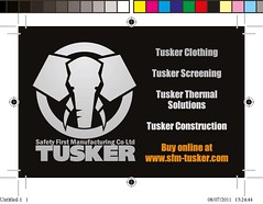 Business Card - Tusker Side 2 (INTRINITY) Tags: print design graphicdesign printer businesscards letterhead businessstationery