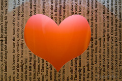 Straight from the heart (Lynn McFulton) Tags: paper book heart lol romantic bryanadams lovesongs macromondays itsjustatitle 3652012 2010yip butitsoundscruel okayichangedit