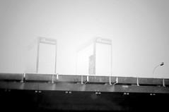 Phantom Towers (MagneticDust) Tags: street bridge blackandwhite bw paris france building tower photography photo blackwhite photographie tour noiretblanc pentax nb freeway pont kr phantom rue immeuble pentaxkr