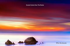 Sunset Colors Over the Rocks (davidyuweb) Tags: sanfrancisco california sunset usa colors rocks long exposure over hard 9 filter lee edge