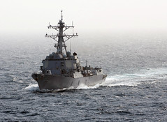 The Arleigh Burke-class guided-missile destroyer USS Momsen. (Official U.S. Navy Imagery) Tags: arabiansea wwwfacebookcomusnavy
