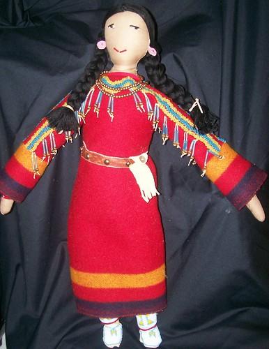 dolls native american authentic