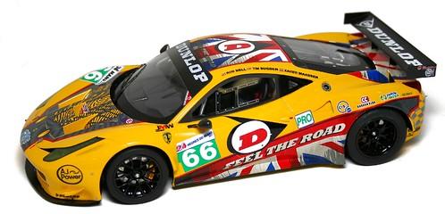 BBR 458 Italia GT2 Le Mans 2011