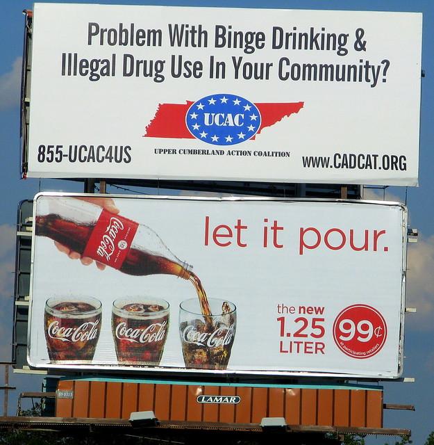 Billboard Juxtaposition